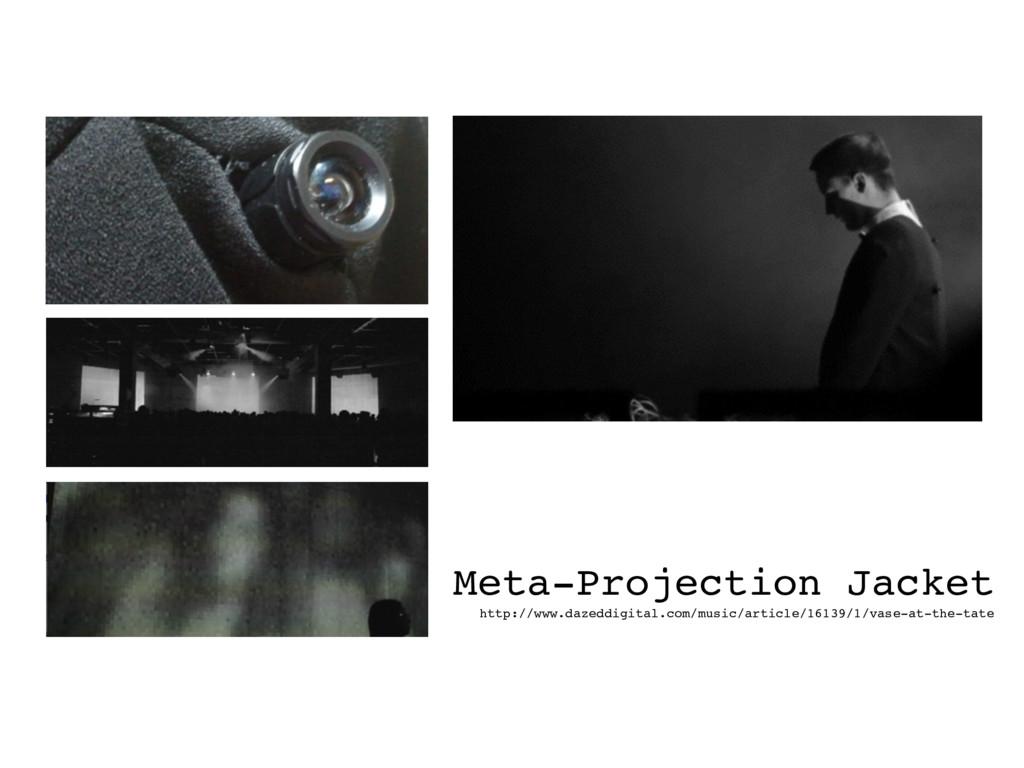 Meta-Projection Jacket http://www.dazeddigital...