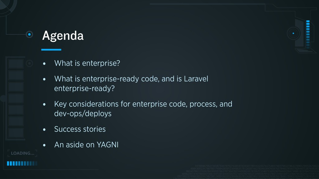 • What is enterprise? • What is enterprise-read...