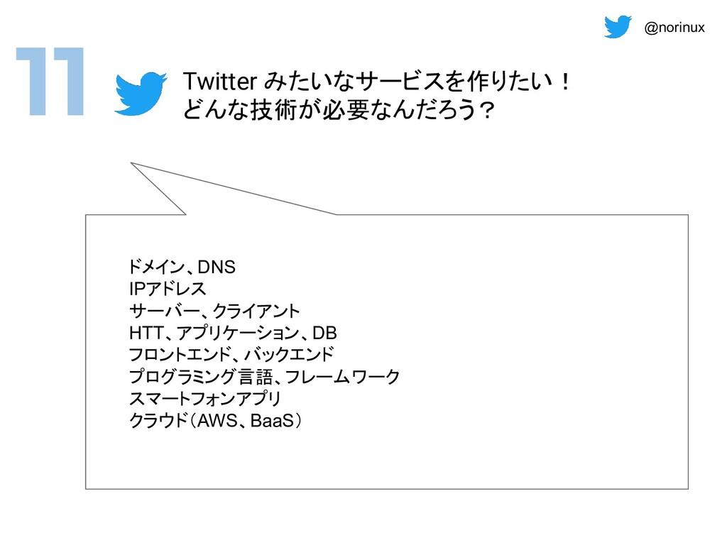 @norinux ドメイン、DNS IPアドレス サーバー、クライアント HTT、アプリケーシ...