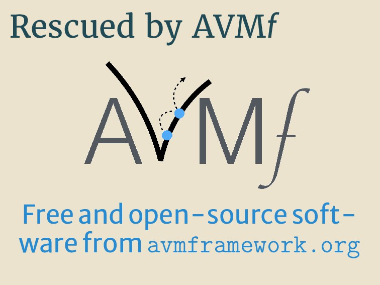 Rescued by AVMf Freeandopen-sourcesoft- warefro...