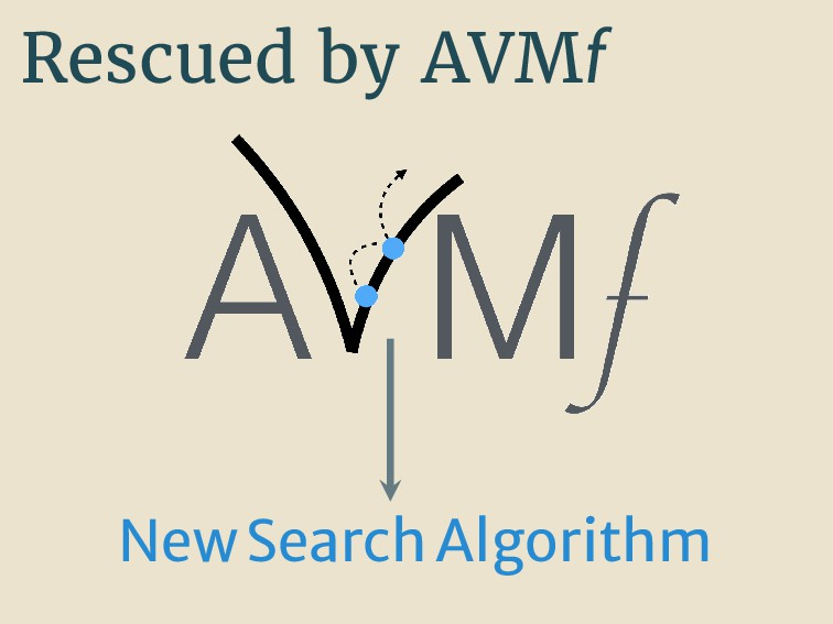 Rescued by AVMf NewSearchAlgorithm