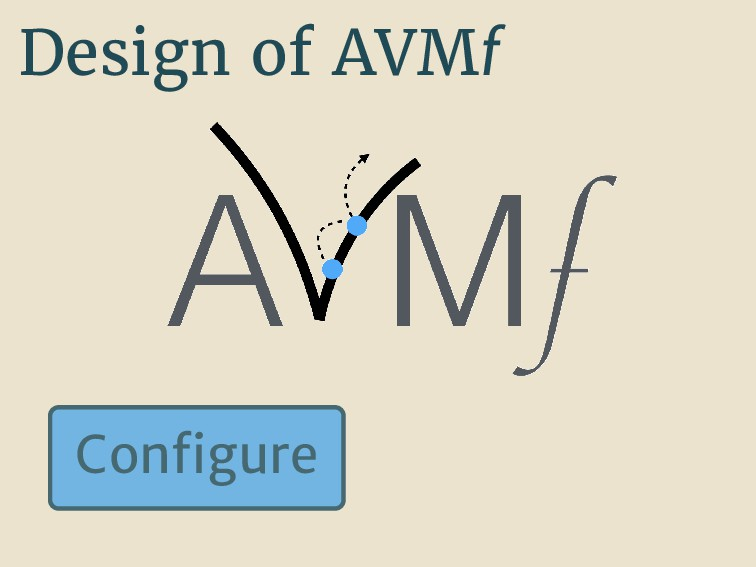 Design of AVMf Con gure