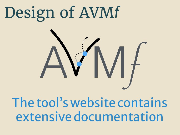 Design of AVMf Thetool'swebsitecontains extensi...
