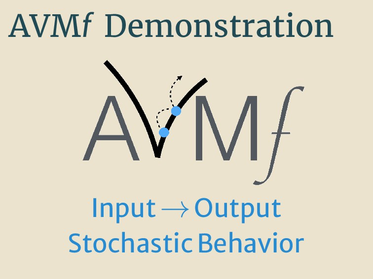 AVMf Demonstration Input→Output StochasticBehav...