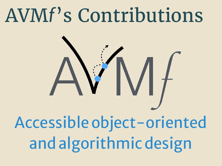 AVMf's Contributions Accessibleobject-oriented ...
