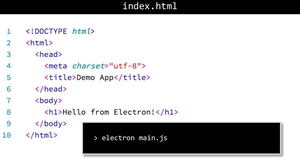 index.html > electron main.js