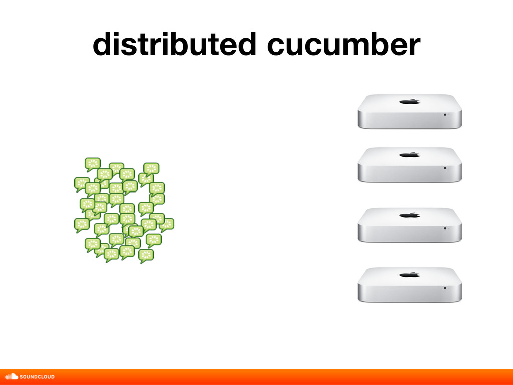 distributed cucumber