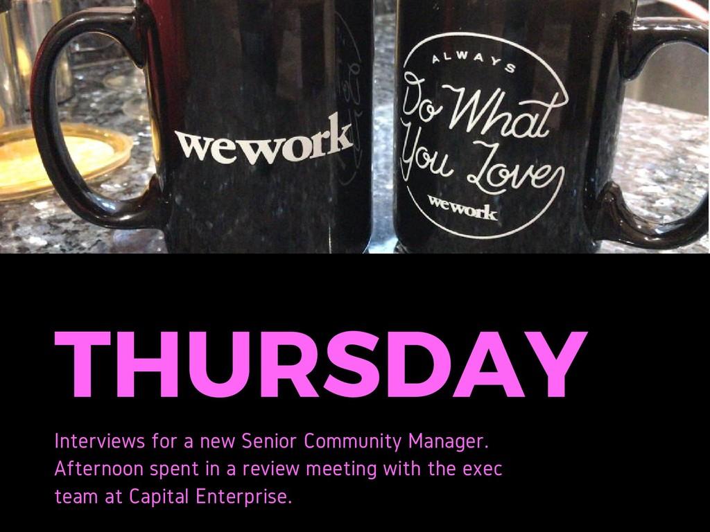 THURSDAY Interviews for a new Senior Community ...