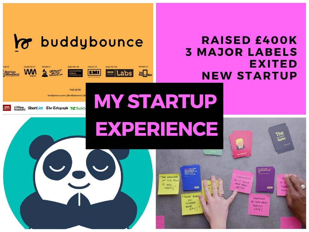 EXPERIENCE MY STARTUP