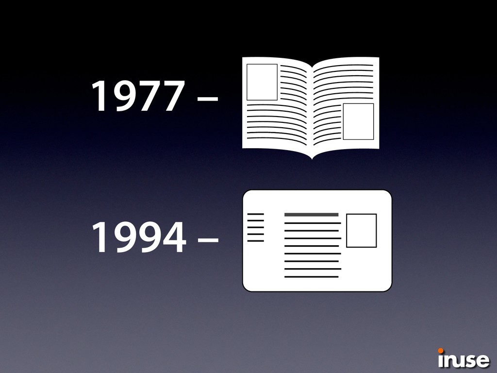 1977 – 1994 –