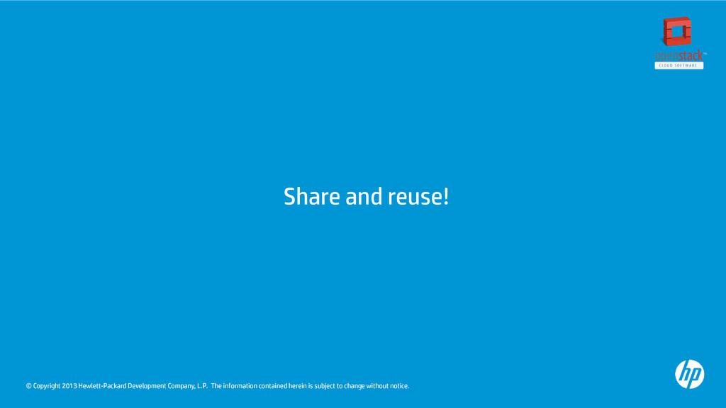 © Copyright 2013 Hewlett-Packard Development Co...