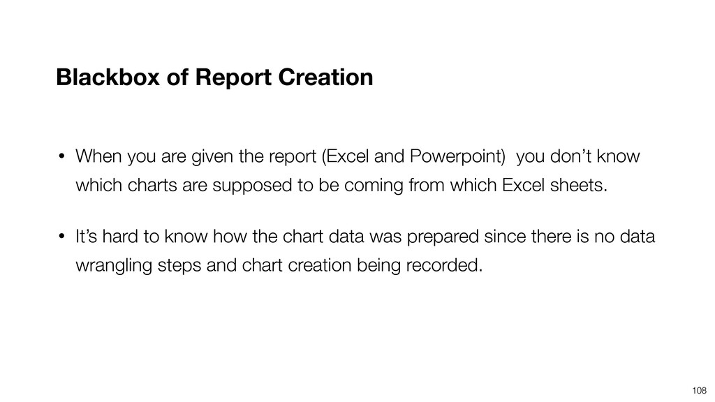 108 • When you are given the report (Excel and ...