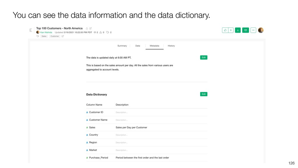 You can see the data information and the data d...
