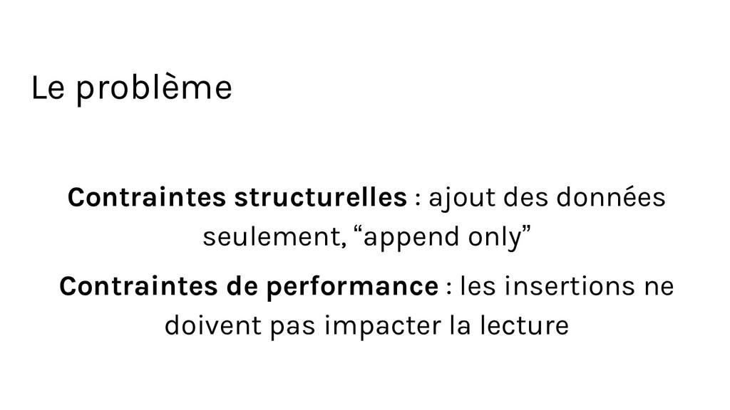 Contraintes structurelles : ajout des données s...