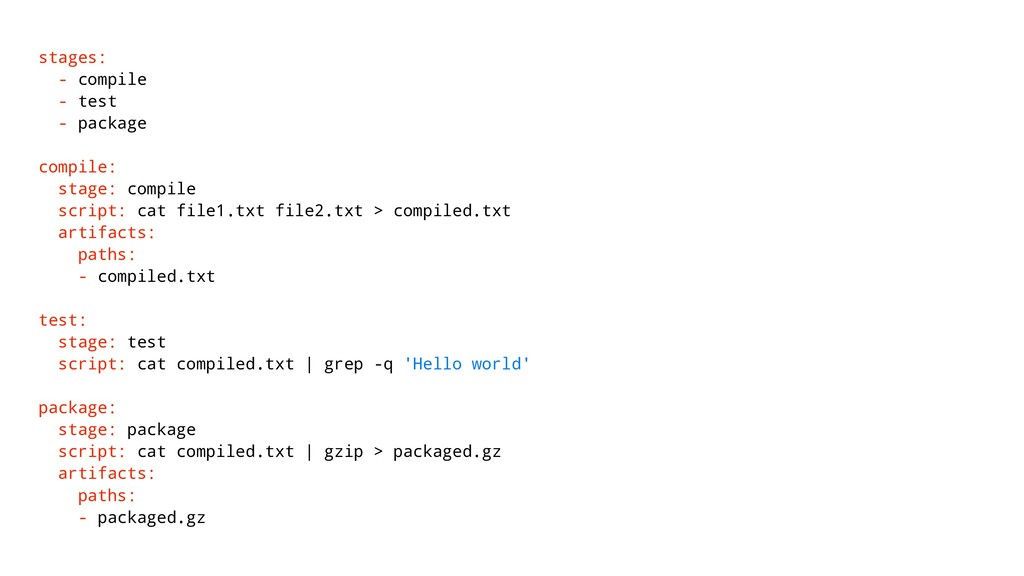 stages: - compile - test - package compile: sta...