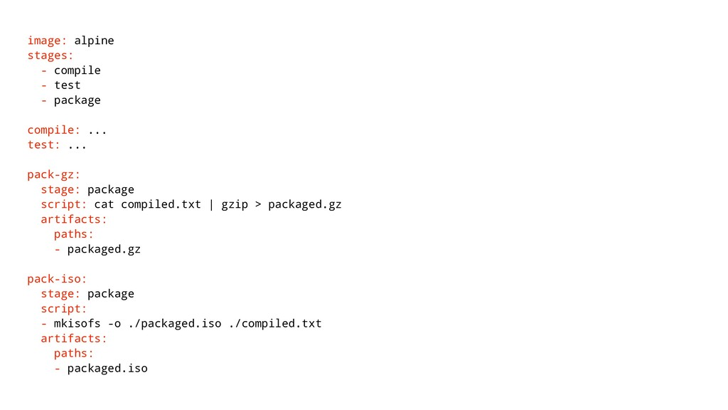 image: alpine stages: - compile - test - packag...