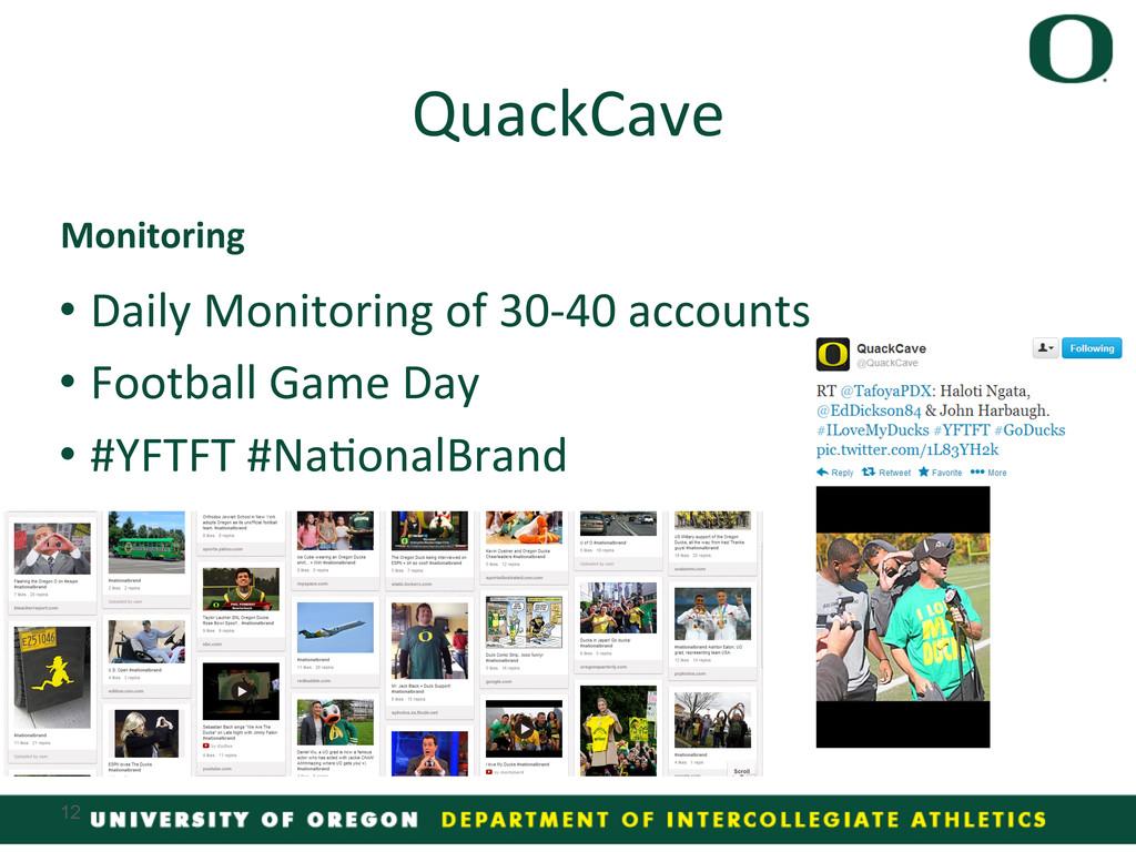 •Daily Monitoring of 30-‐40 accou...