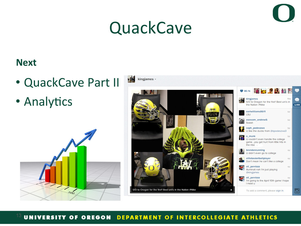 •QuackCave Part II  •Analy4cs  ...