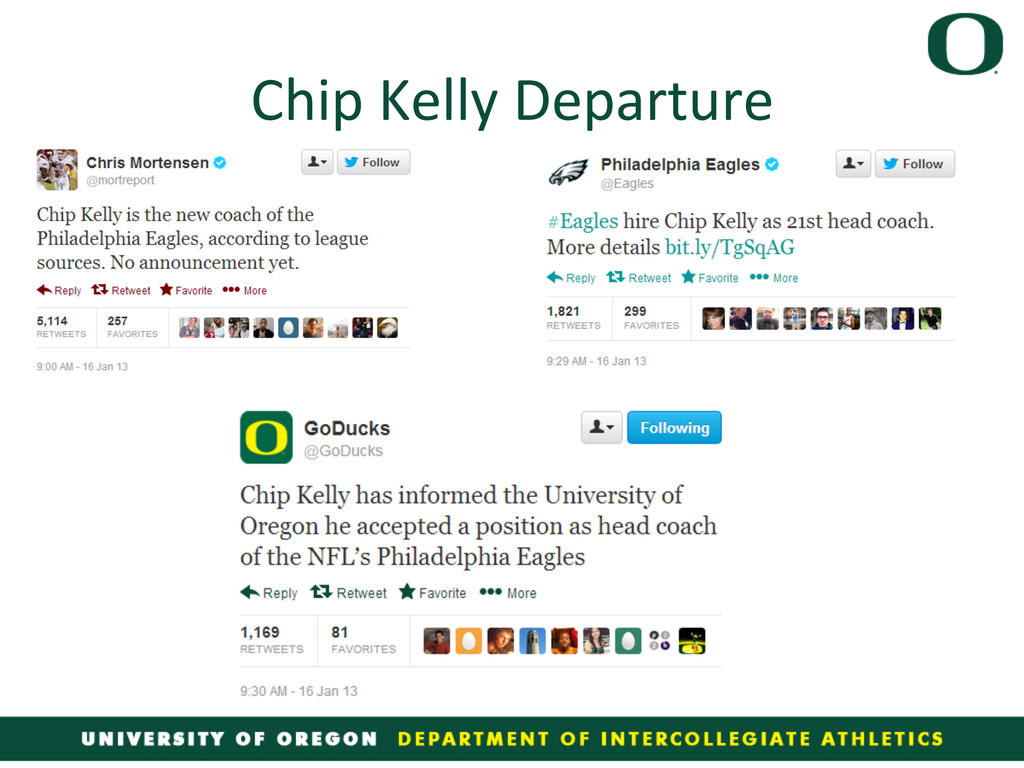 Chip Kelly Departure