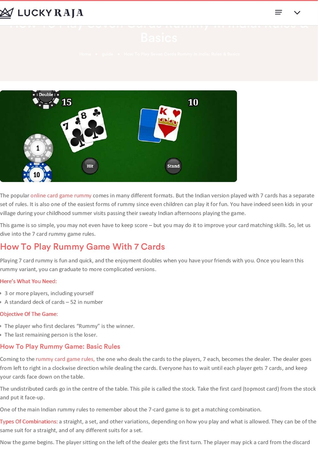 How To Play Seven Cards Rummy In India: Rules &...
