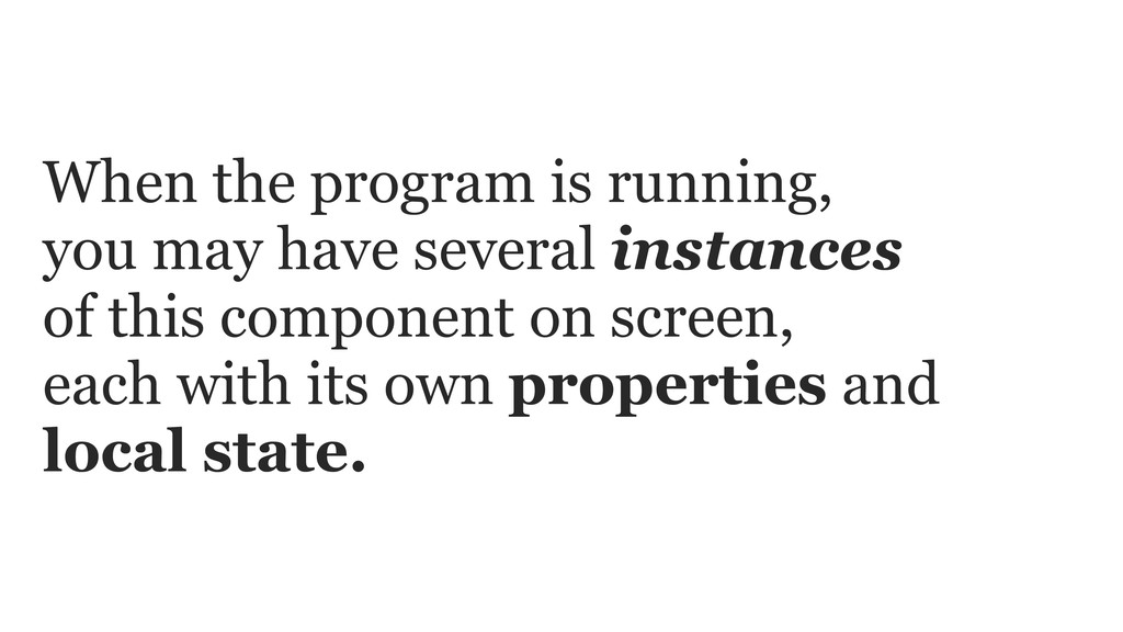 When the program is running, you may have sever...