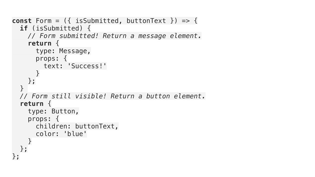 const Form = ({ isSubmitted, buttonText }) => {...