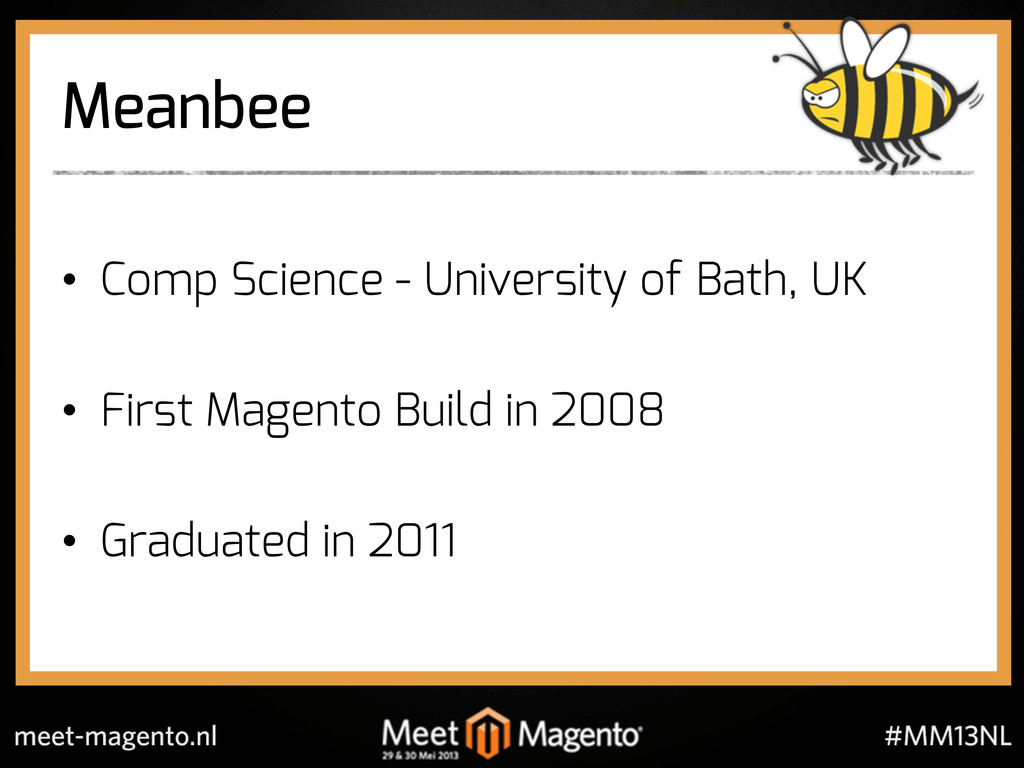Meanbee •  Comp Science - University of Bath, U...
