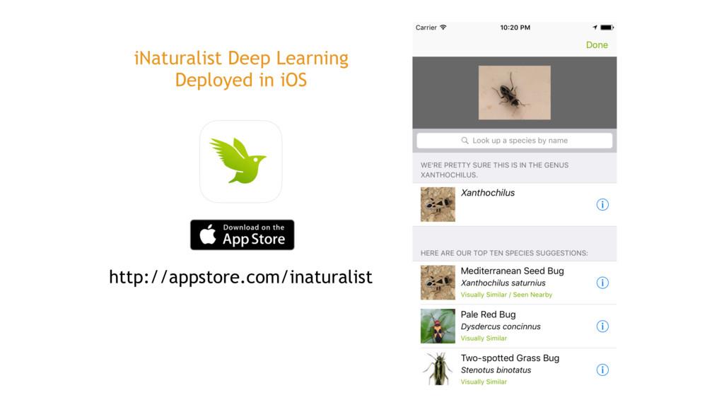 http://appstore.com/inaturalist iNaturalist Dee...