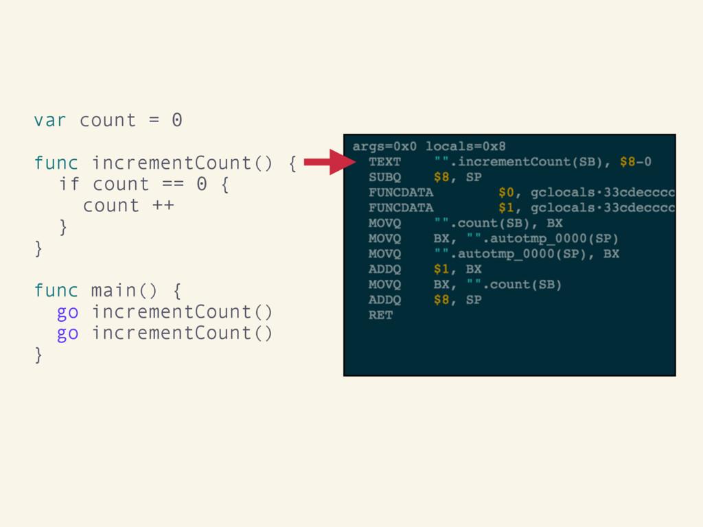 var count = 0 func incrementCount() { if count ...