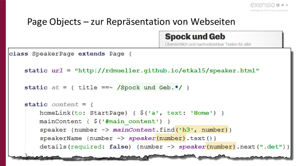 26 Page Objects – zur Repräsentation von Websei...