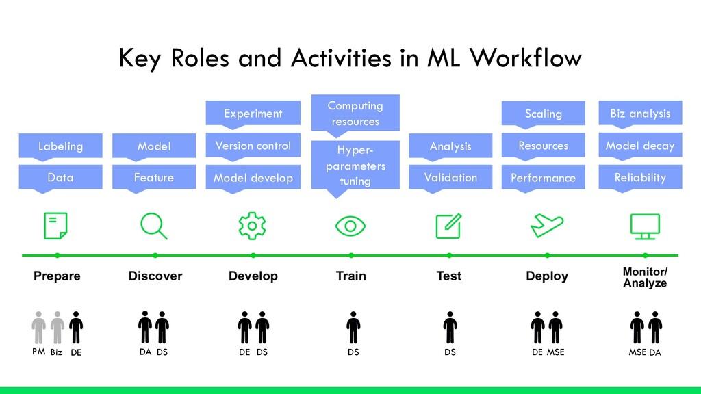 DS DE MSE DA PM Biz Key Roles and Activities in...