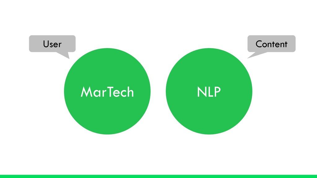 MarTech NLP User Content