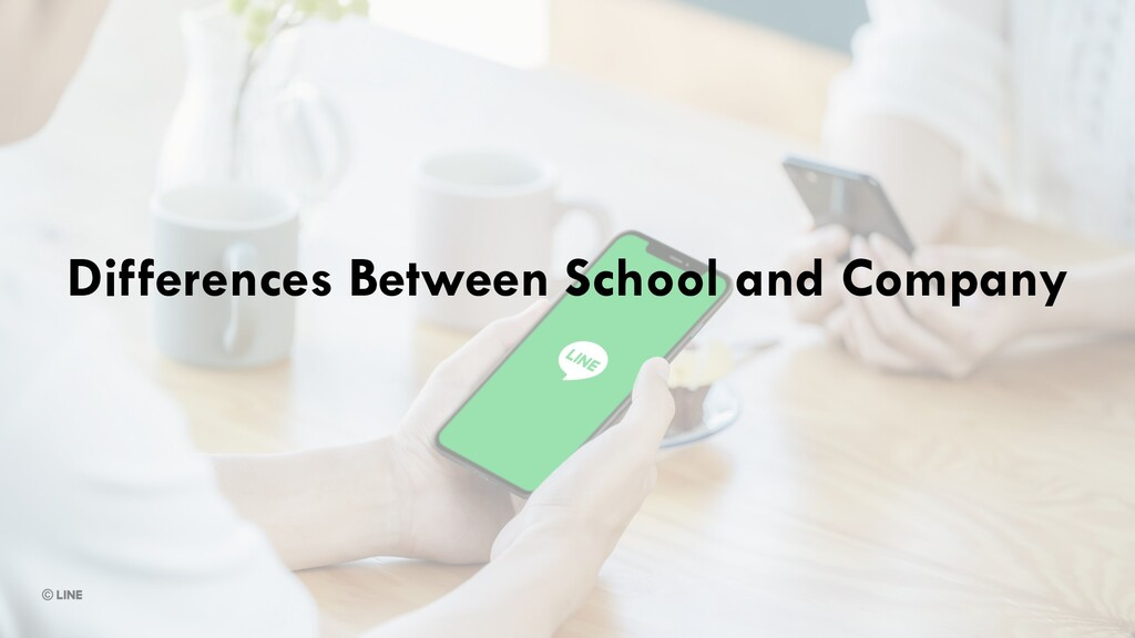 Differences Between School and Company
