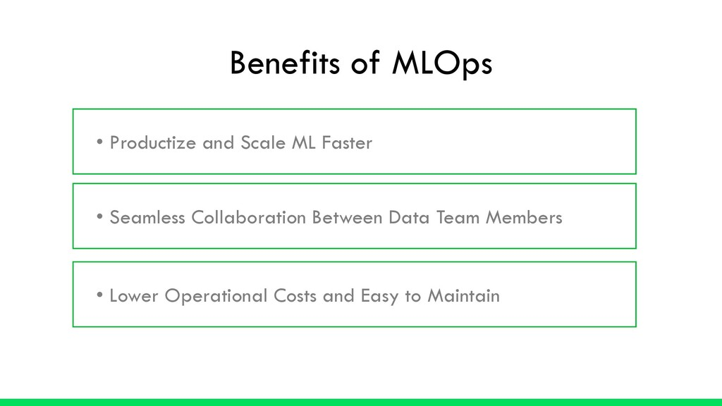 • Productize and Scale ML Faster • Seamless Col...