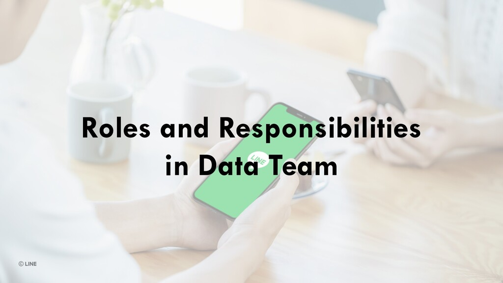 Roles and Responsibilities in Data Team