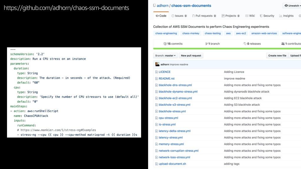 https://github.com/adhorn/chaos-ssm-documents