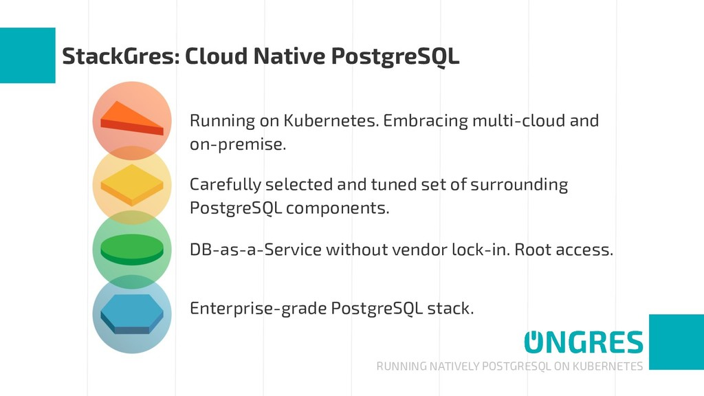 RUNNING NATIVELY POSTGRESQL ON KUBERNETES Stack...