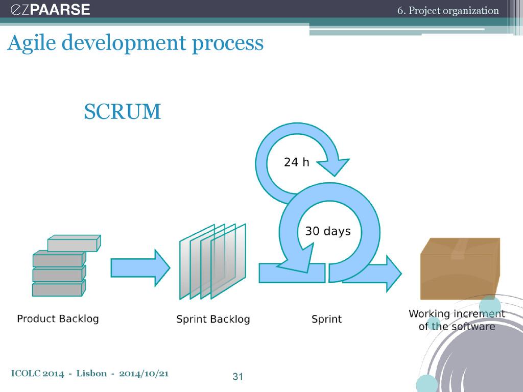 ICOLC 2014 - Lisbon - 2014/10/21 Agile developm...
