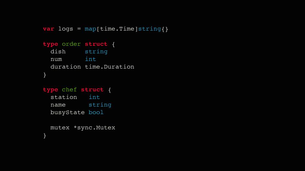 var logs = map[time.Time]string{} type order st...