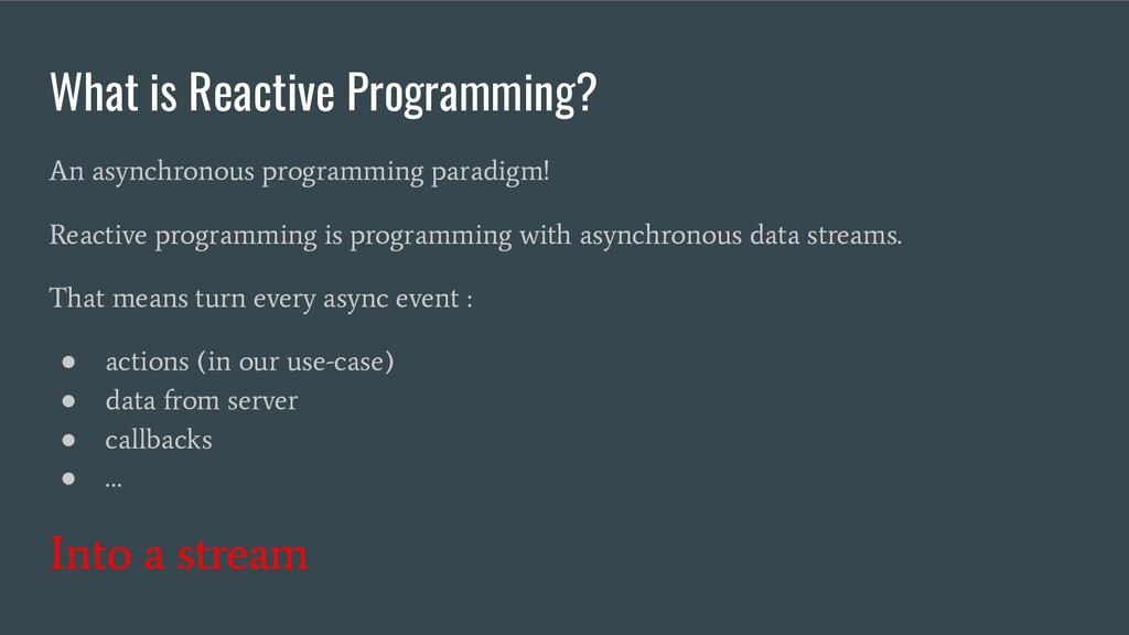 What is Reactive Programming? An asynchronous p...