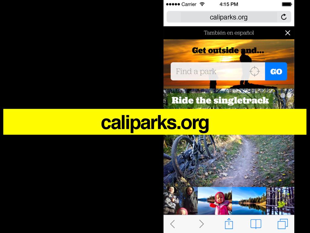 caliparks.org caliparks.org