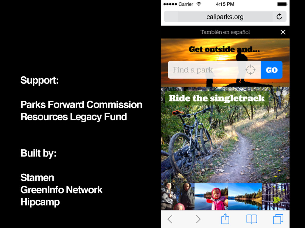 Support: Parks Forward Commission Resources Leg...