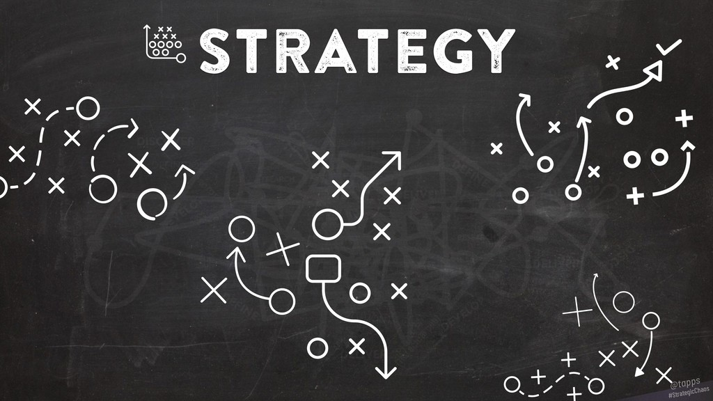 strategy #StrategicChaos @tapps