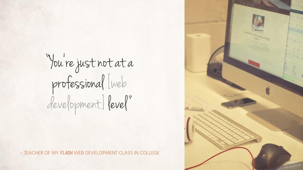 – TEACHER OF MY FLASH WEB DEVELOPMENT CLASS IN ...