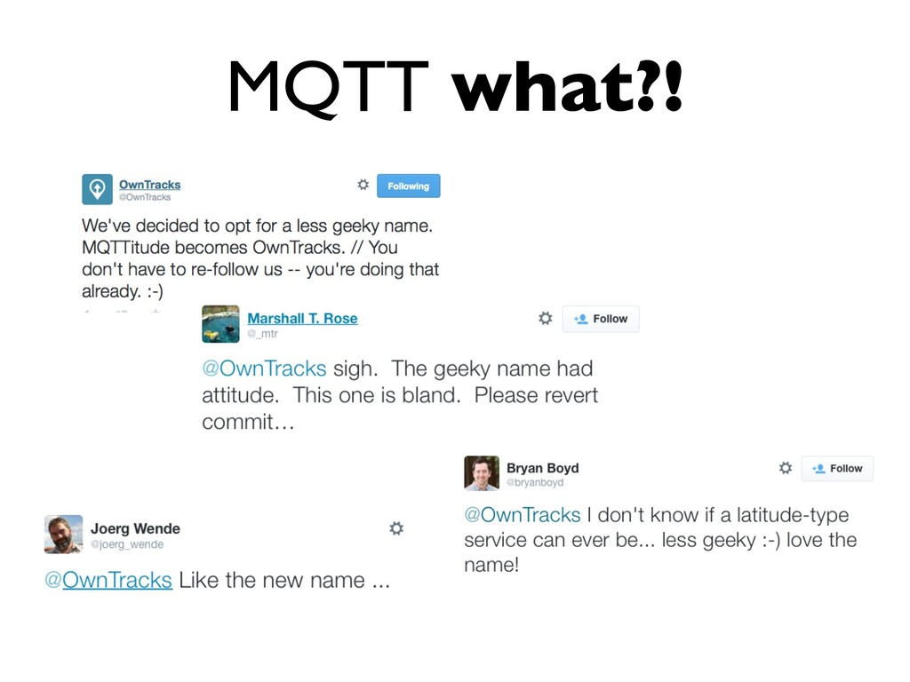 MQTT what?!