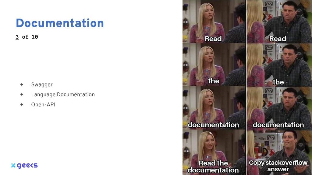 Documentation + Swagger + Language Documentatio...