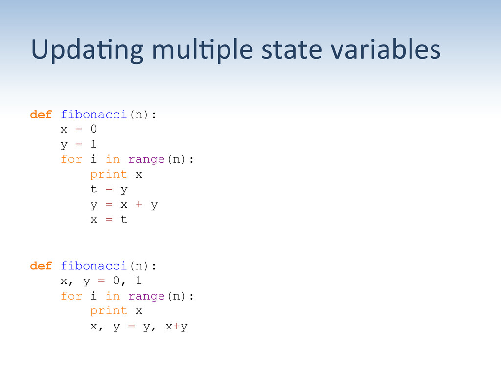 Upda:ng	