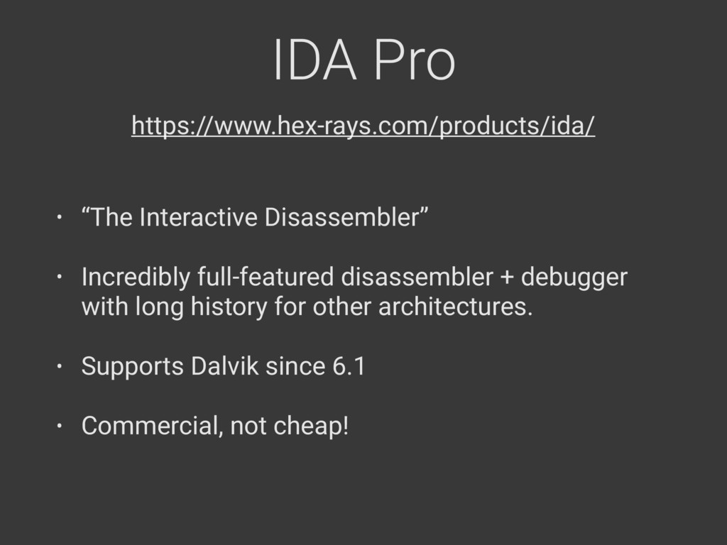 "IDA Pro • ""The Interactive Disassembler"" • Incr..."