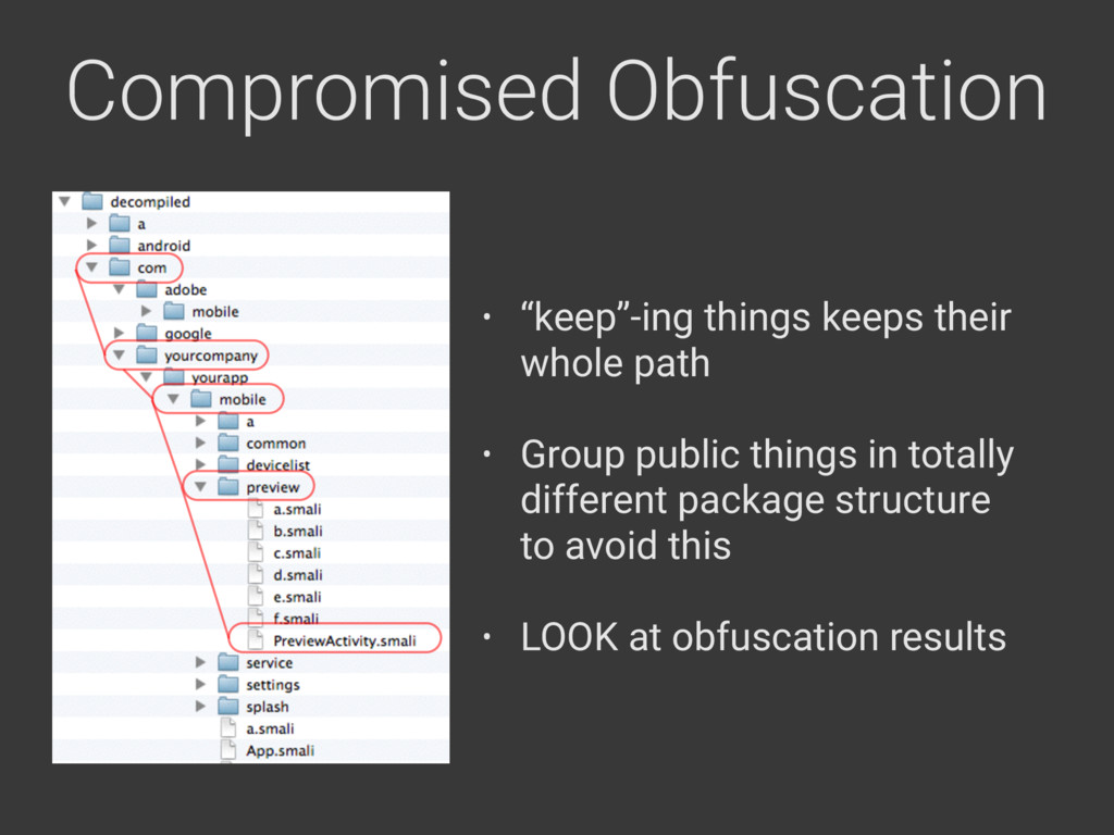 """Compromised Obfuscation • """"keep""""-ing things kee..."""