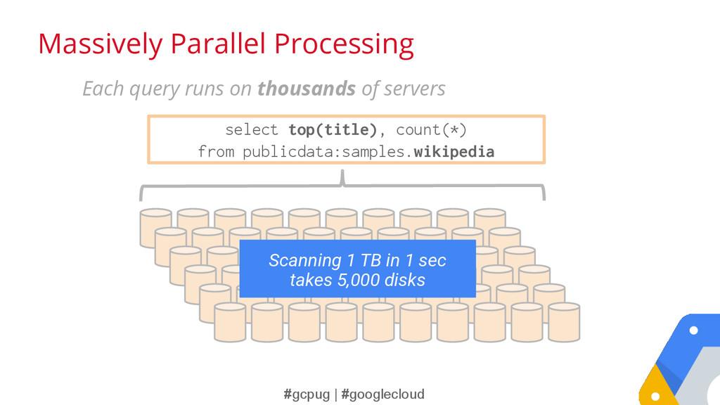 #gcpug | #googlecloud Massively Parallel Proces...